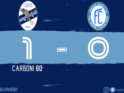 Finale Calcio Lecco - Folgore Caratese
