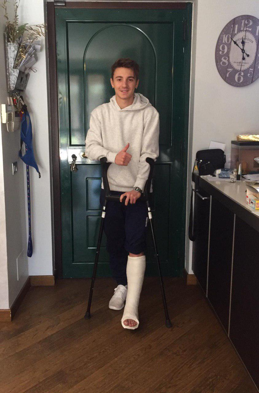 Comunicato Ufficiale: frattura del V metatarso per Gabriel Corna