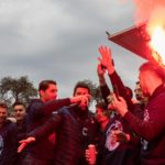 Le foto della festa in Piazza Garibaldi insieme ai tifosi blucelesti