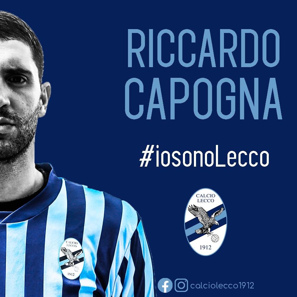 Ufficiale: Riccardo Capogna rinnova con la Calcio Lecco 1912