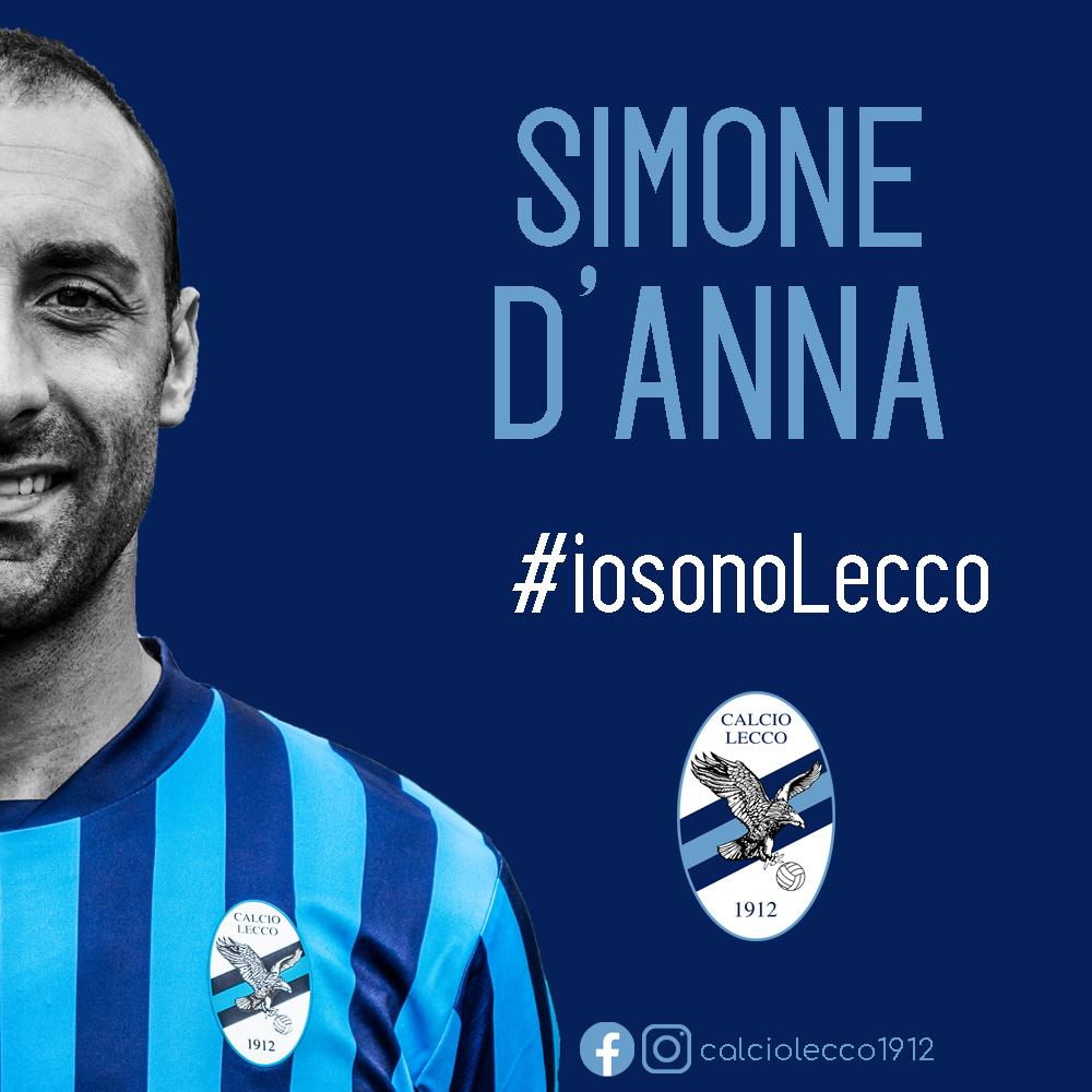 Ufficiale: Simone D'Anna rinnova con la Calcio Lecco 1912