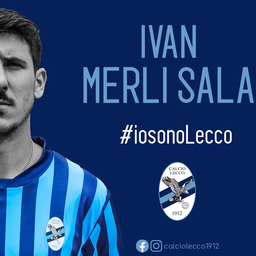 Ufficiale: Ivan Merli Sala rinnova con la Calcio Lecco 1912