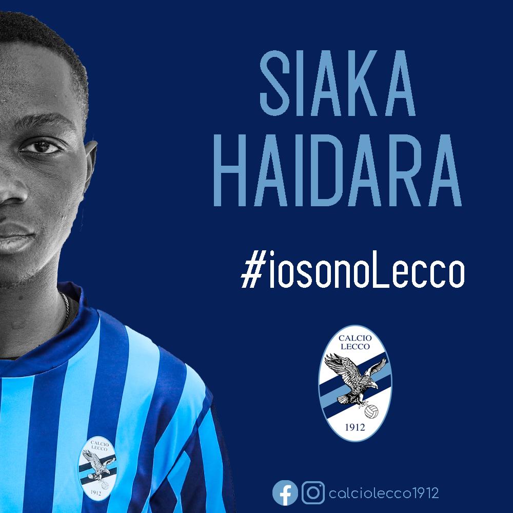 Ufficiale: Siaka Haidara nuovo giocatore della Calcio Lecco 1912