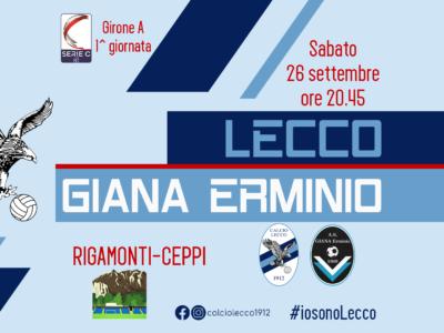 Lecco - Giana Erminio
