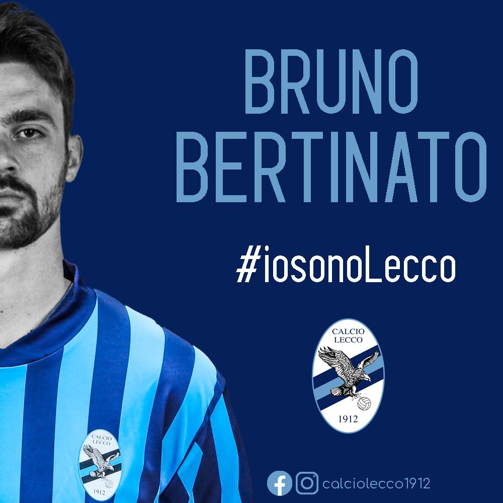 Ufficiale: Bruno Bertinato nuovo giocatore della Calcio Lecco 1912