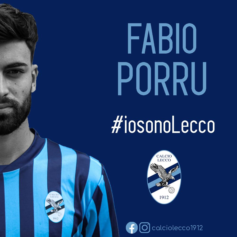 Ufficiale: Fabio Porru nuovo giocatore della Calcio Lecco 1912