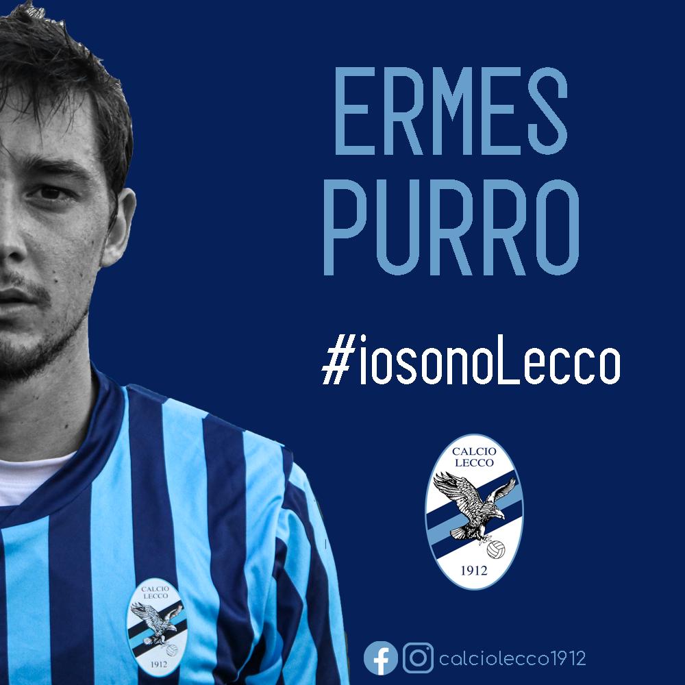 Ufficiale: Ermes Purro nuovo giocatore della Calcio Lecco 1912