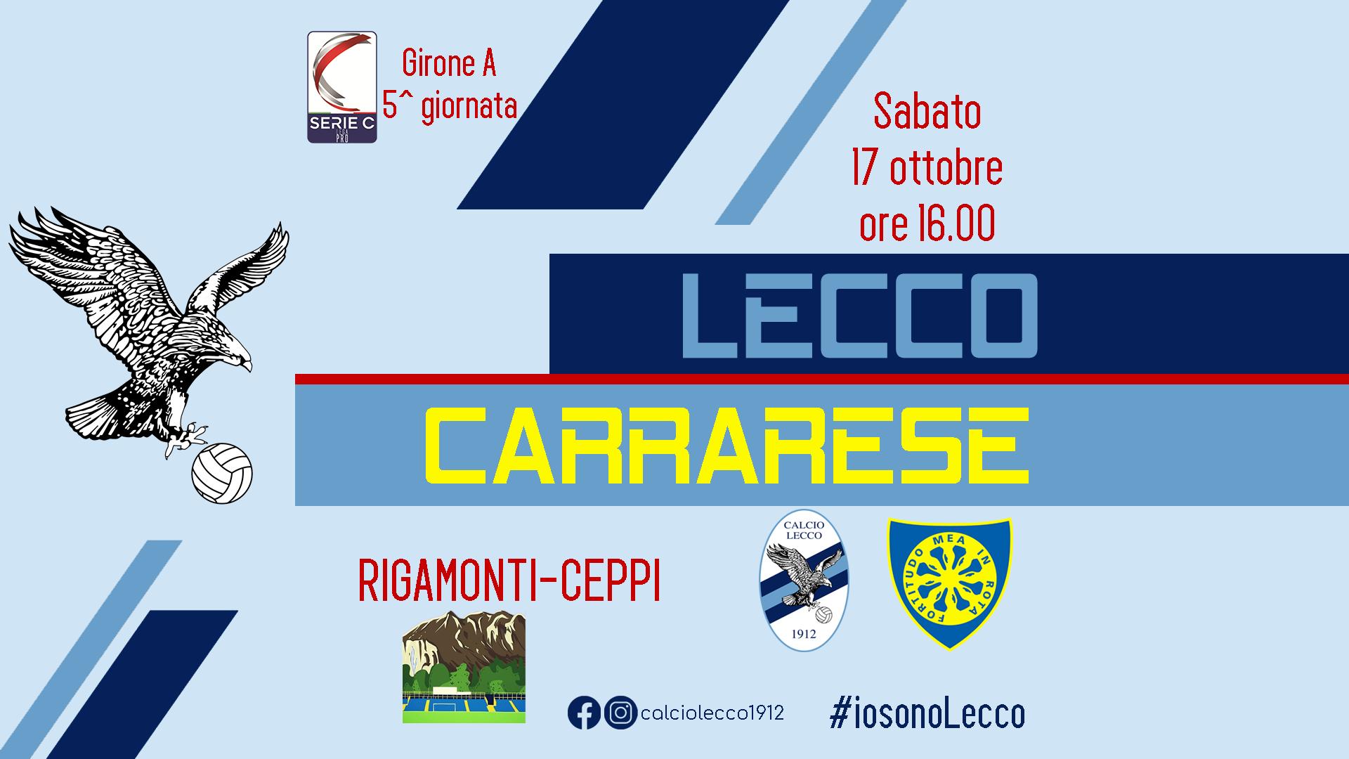 Lecco - Carrarese