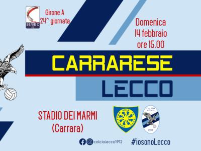 Carrarese - Lecco