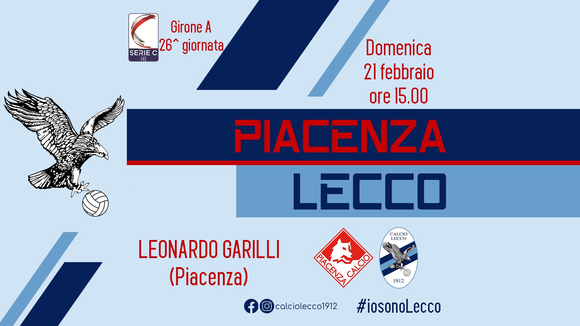 Piacenza - Lecco