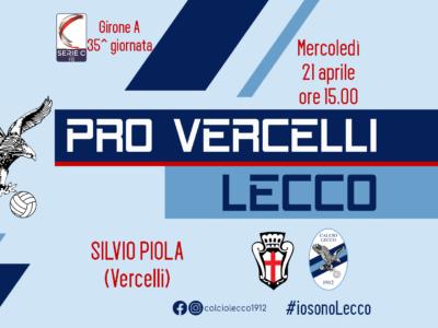 Pro Vercelli - Lecco